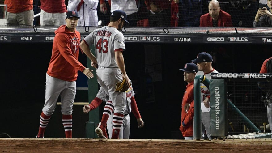 Cardinals implode to open up Game 4, give up seven runs in the first
