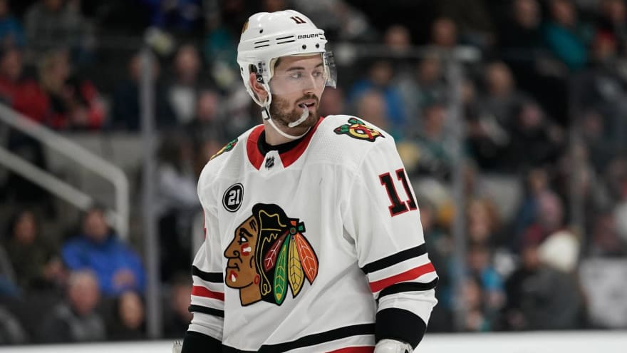 Blackhawks may have enough cap space to re-sign Brendan Perlini