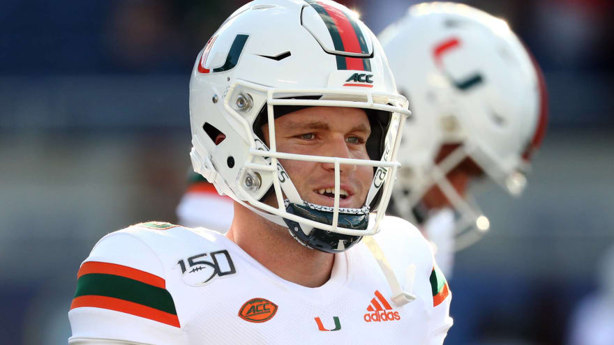 Miami's Tate Martell no longer working as WR, wants to play QB