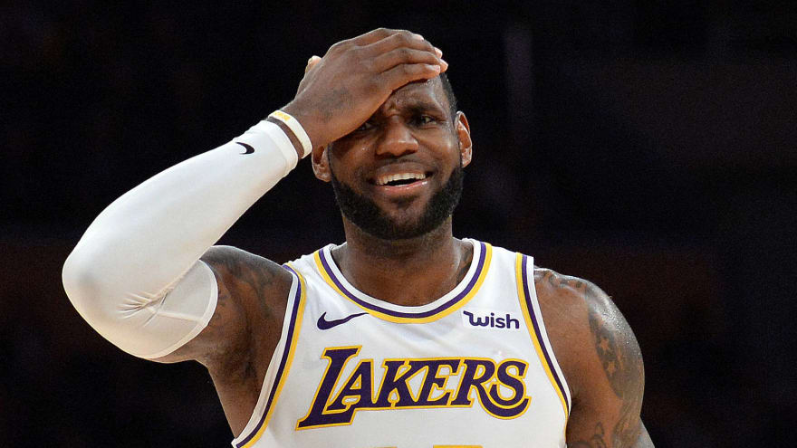a1996b29bd9e LeBron James made  raspberry sound  when asked about Lakers  roster ...