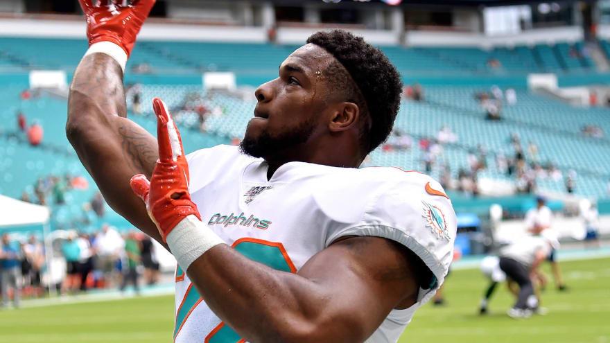 Mark Walton Waived By Dolphins In Wake Of Suspension Police