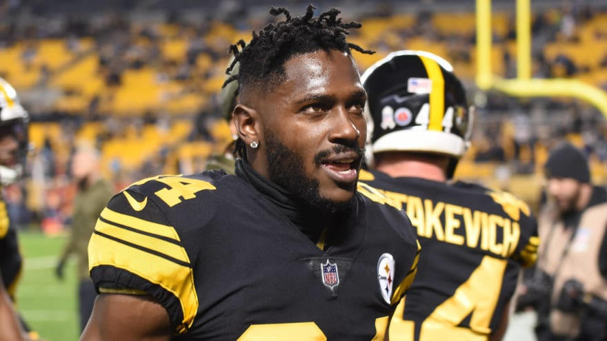 Steelers say three teams have reached out about Antonio Brown trade