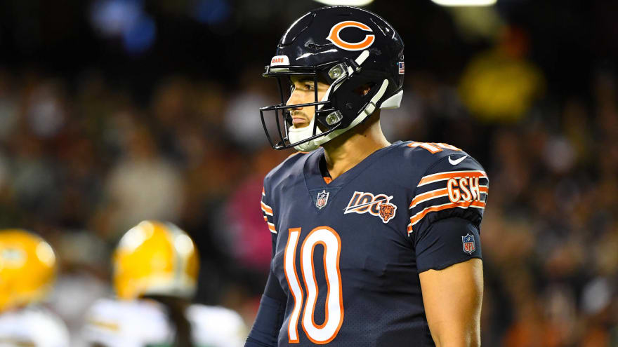 sale retailer b7723 38ef0 Nagy: Bears didn't tell Trubisky to not discuss Packers loss ...