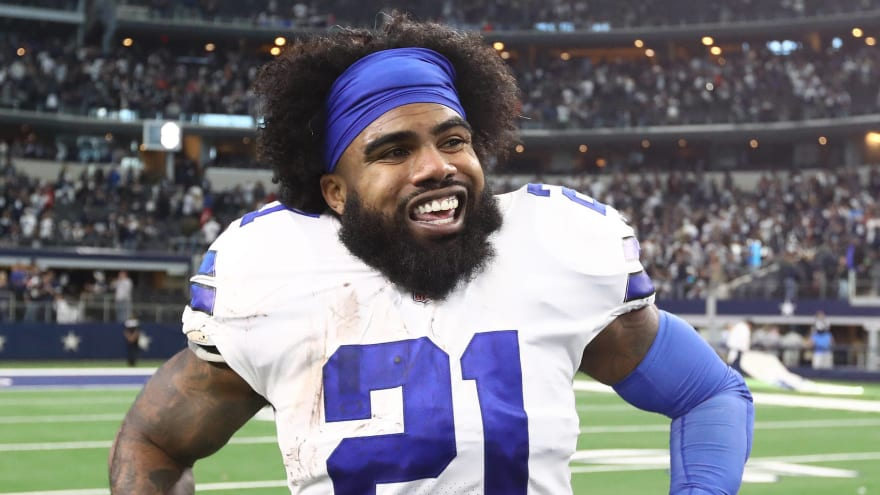 Ezekiel Elliott reportedly planning trip abroad as potential holdout looms