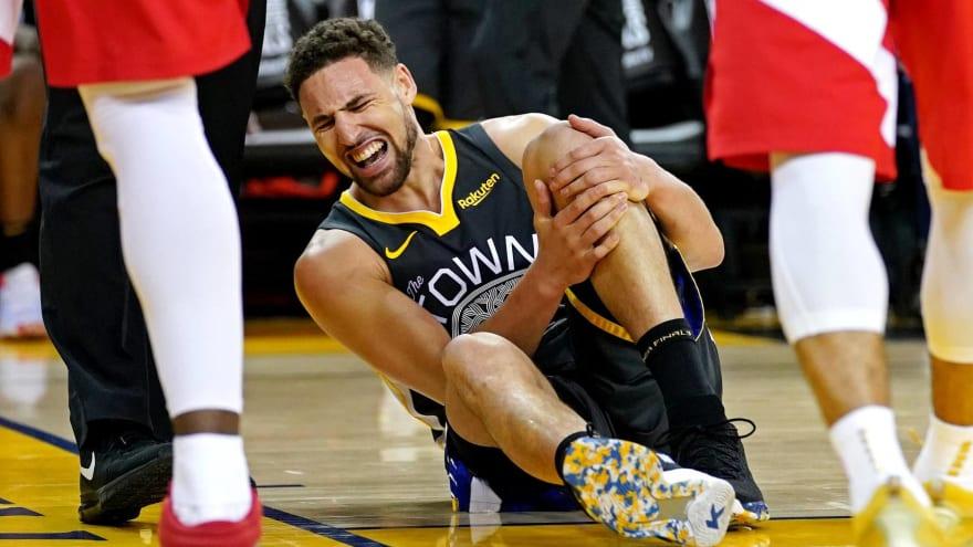 2020 NBA championship odds see major shift after Klay Thompson injury