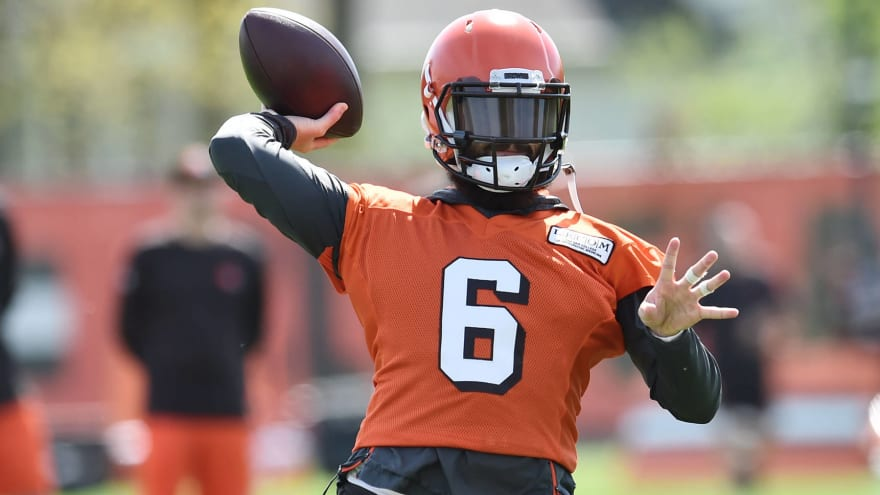 Baker Mayfield, Browns receivers work out in L.A. together