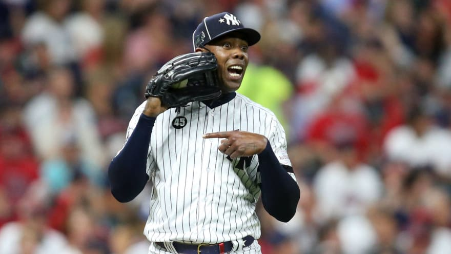 Aroldis Chapman refutes report that he expects to opt out after season