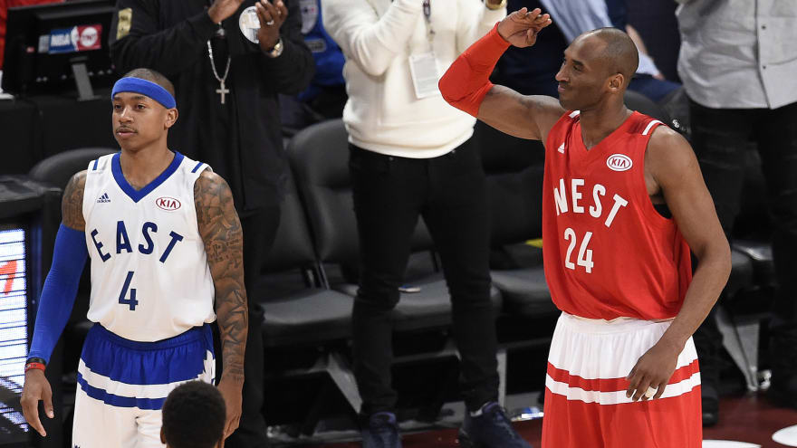 ae818117e Isaiah Thomas getting scouting tips in playoffs from Kobe Bryant ...