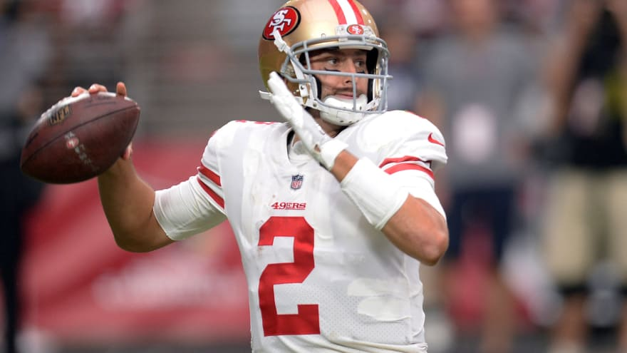62f516969b0 49ers to release Brian Hoyer