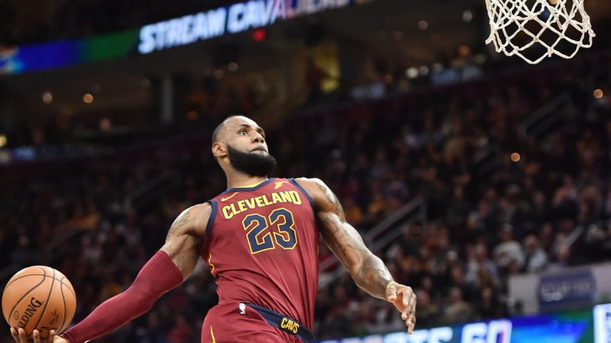 Lebron James Dope Pics: WATCH: LeBron James Misses Wide-open Windmill Dunk
