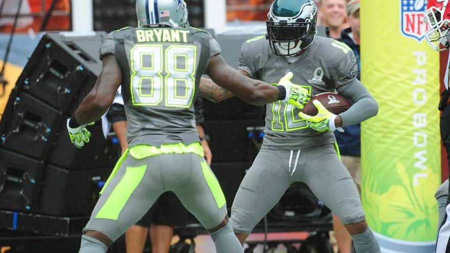 online retailer db2db 49f5a Dez Bryant, DeSean Jackson exchange jerseys after game ...