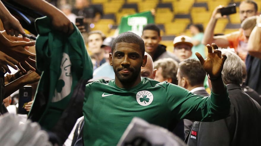 Was message on Kyrie Irving s hat a shot at LeBron James ... ecc2081fa59a