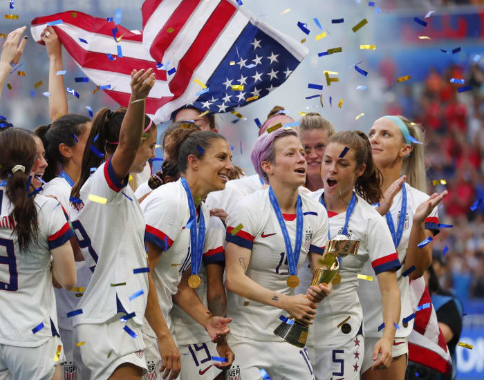 U.S. women roll to World Cup triumph - Top Sports Moments of 2019