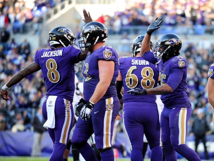 Baltimore Ravens' best look: 2016-present color rush
