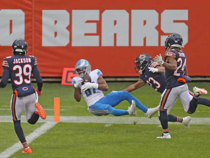 Bears defense suddenly unreliable amid historic collapse