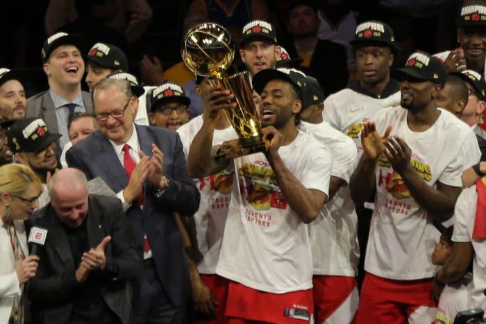 Toronto Raptors win historic NBA title - Top Sports Moments of 2019