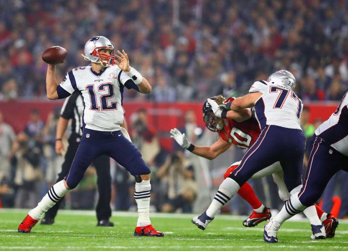 Tom Brady, QB, New England Patriots - Super Bowl LI