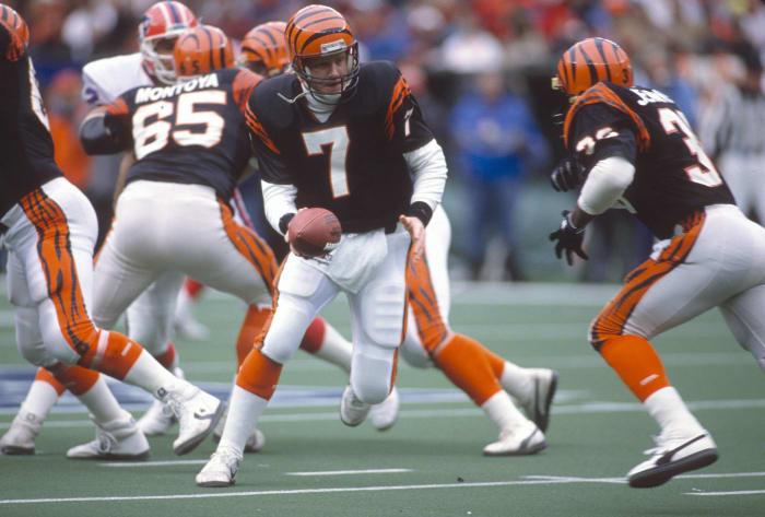 Cincinnati Bengals' best look: 1981-96 home