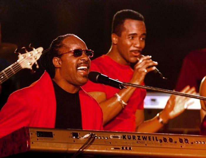 Super Bowl XXXIII halftime show - Stevie Wonder