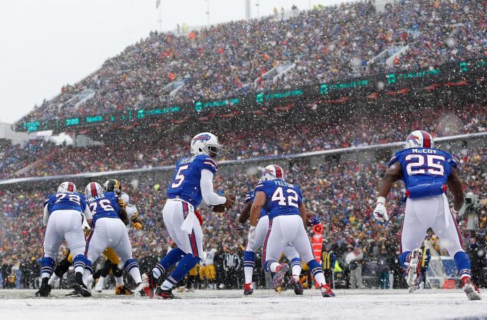 Buffalo Bills' best look: 2011-present home