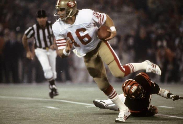 Joe Montana, QB, San Francisco 49ers - Super Bowl XVI