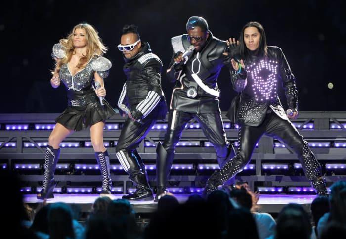Super Bowl XLV halftime show - The Black Eyed Peas