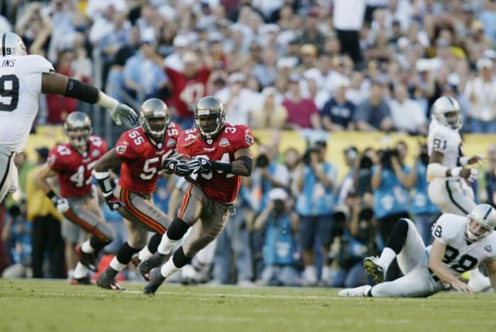 Dexter Jackson, S, Tampa Bay Buccaneers - Super Bowl XXXVII
