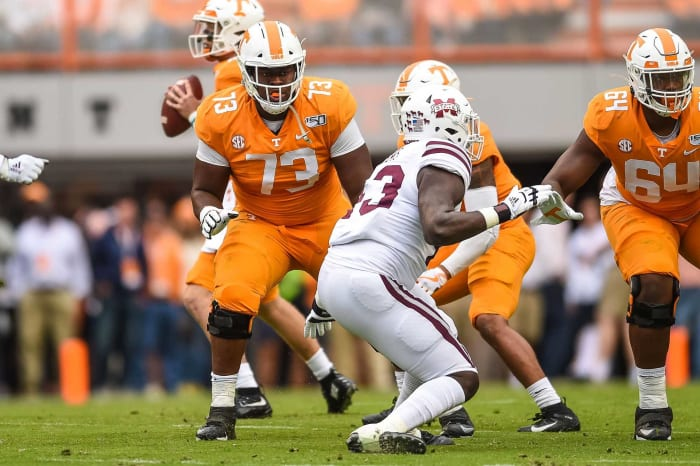 Green Bay Packers: Trey Smith, OT, Tennessee