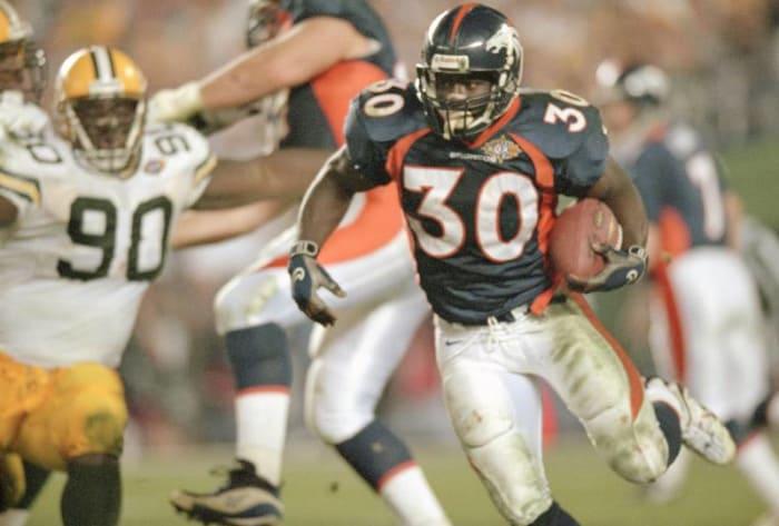 Terrell Davis, RB, Denver Broncos - Super Bowl XXXII