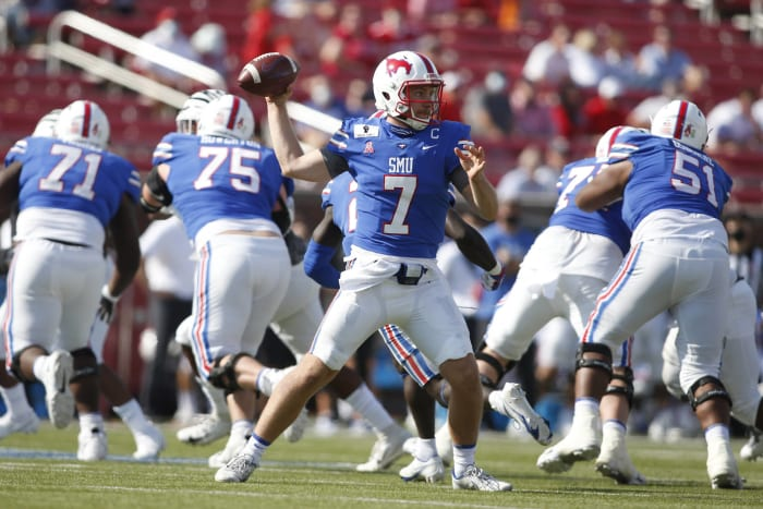 No. 17 SMU (4-0) at Tulane (2-2), Friday, 6 p.m., ESPN