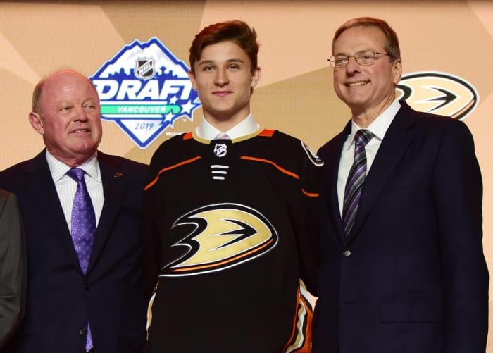 Calder Trophy (Rookie of the year): Trevor Zegras, Anaheim Ducks