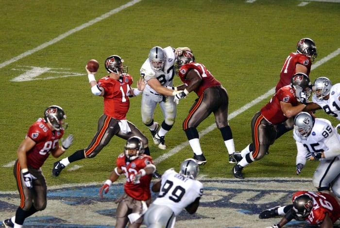 Super Bowl XXXVII: Raiders vs. Buccaneers