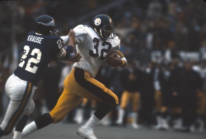 Franco Harris, RB, Pittsburgh Steelers - Super Bowl IX