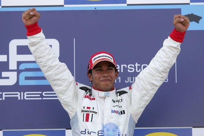 2006: First Black Formula One racer: Lewis Hamilton
