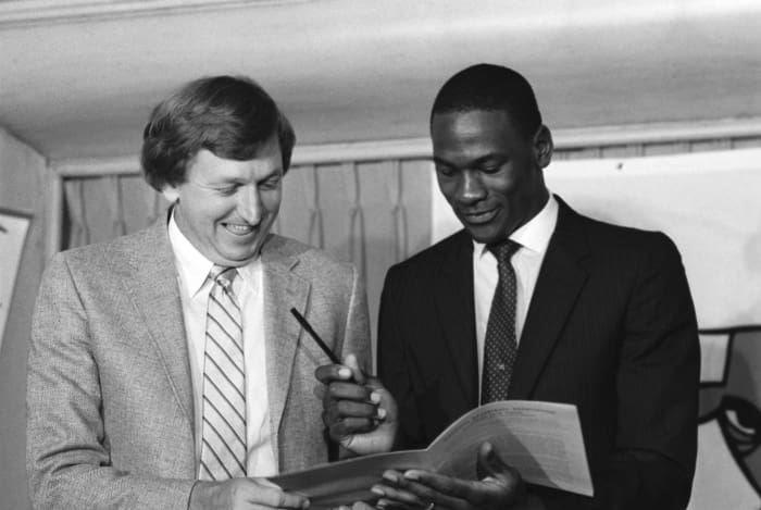 1984 NBA Draft: Bowie over Jordan