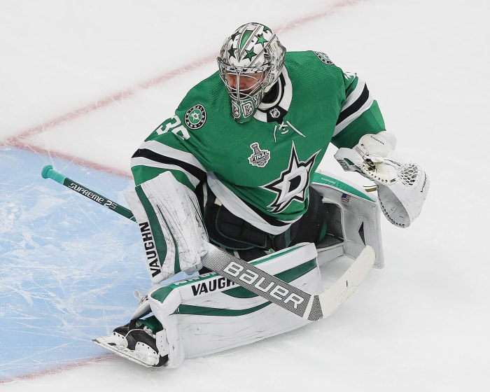 Anton Khudobin is going to get paid