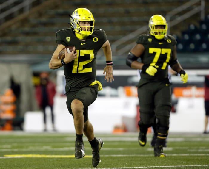 No. 11 Oregon (1-0) at Washington State (1-0), Saturday, 7 p.m., Fox