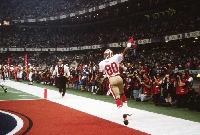 Super Bowl XXIV: San Francisco 55, Denver 10