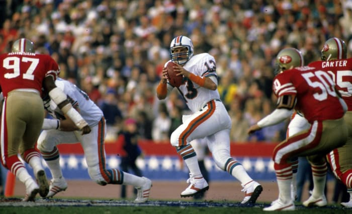 Marino goes to his lone Super Bowl