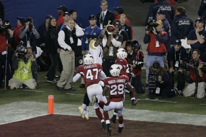 Santonio Holmes, WR, Pittsburgh Steelers - Super Bowl XLIII