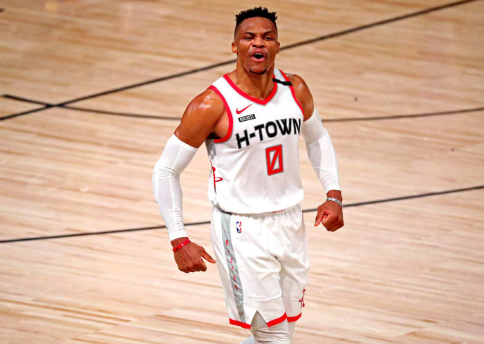 Russell Westbrook, Basketball ($64.1M)
