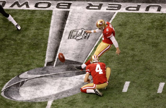 David Akers, Age 38: Super Bowl XLVII