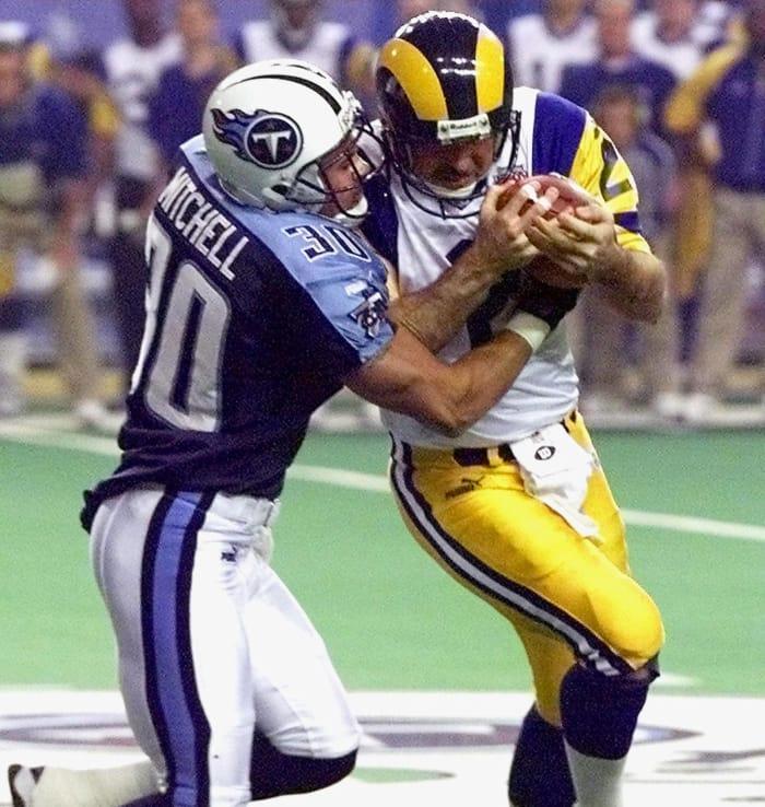 Mike Horan, Age 40: Super Bowl XXXIV