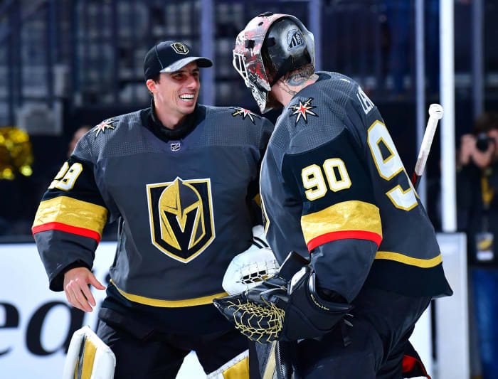 Vegas has a goalie issue