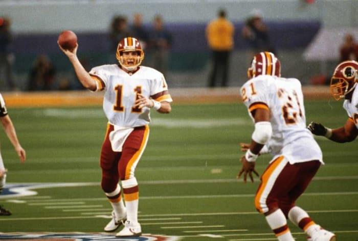Mark Rypien, QB, Washington Redskins - Super Bowl XXVI