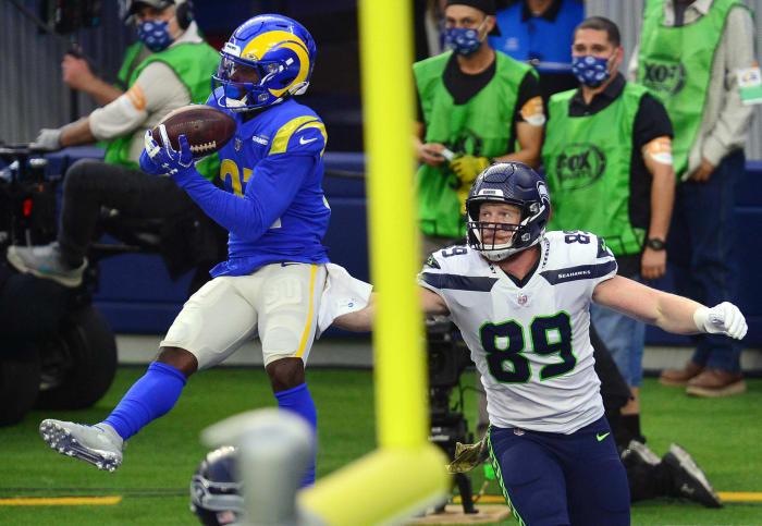 Rams corners stop Seahawks wideouts