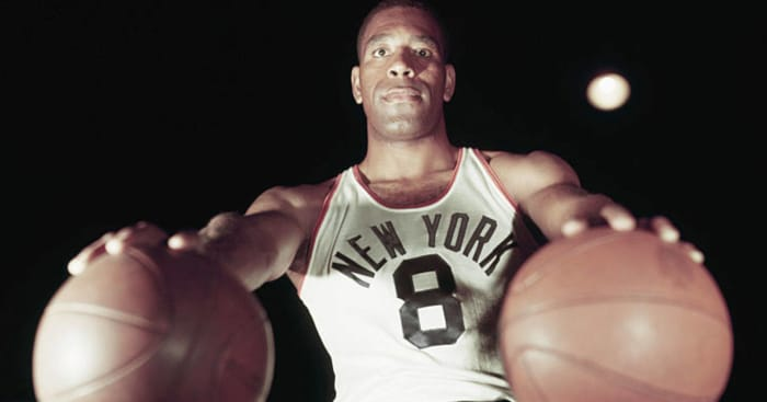 1950: First African-American NBA players