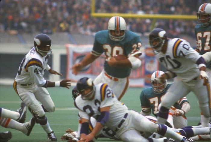 Larry Csonka, RB, Miami Dolphins - Super Bowl VIII