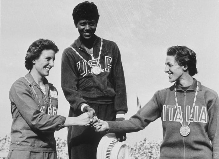 1960: First Black Female To Win Multiple Medals: Wilma Rudolph