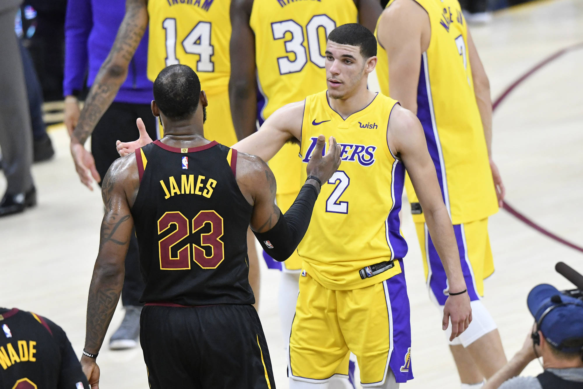 Father Balls Probably Not The Only Person Who Believes This David Richard USA TODAY Sports Chances Of LeBron James
